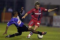 Fotball<br /> Frankrike 2004/05<br /> Istres v Paris Saint Germain<br /> 11. september 2004<br /> Foto: Digitalsport<br /> NORWAY ONLY<br /> JEROME ROTHEN (PSG) / AMOR KEHIHA (IST)