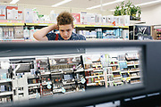 """SailorHank Payne shops for make up at Walgreens, June 13, 2017. He saved up birthday money to buy the products, but hopes for an endorsement deal someday from a make up company. <br /> As the self-styled """"America's Youngest Drag Superstar,""""<br /> SailorHank Payne first began creating his drag persona, RainbowGore Cake, at age 8. Now 14 and starting high school in the fall, RainbowGore Cake has become a full-fledged character with growing notoriety. She has performed across the country— Austin, San Francisco, Portland and New Orleans— in shows and festivals."""