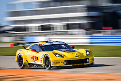 March 14, 2019 - Sebring, Etats Unis - 3 CORVETTE RACING (USA) CORVETTE C7R GTLM JAN MAGNUSSEN (DNK) ANTONIO GARCIA (ESP) MIKE ROCKENFELLER  (Credit Image: © Panoramic via ZUMA Press)