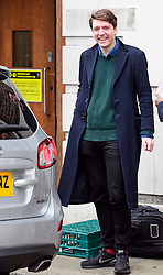 © Licensed to London News Pictures. 14/01/2017. London, UK. JAMES SCHNEIDER, Head of Strategic Communications for Labour Party leader Jeremy Corbyn,  leaves Fabian Society conference in London on January 14, 2016 where Jeremy Corbyn delivered a speech. Corbyn has come under further pressure as leader following the resignation of Stoke-on-Trent, Tristram Hunt. Photo credit: Ben Cawthra/LNP