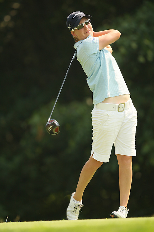 Lindsey Wright during the third round of the 2008 McDonald's LPGA Championship at Bulle Rock Golf Club in Havre de Grace, Maryland on Saturday, June 7, 2008. .