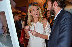 CHELSEA DAVY at the launch of AYA jewellery by Chelsy Davy held at Baar & Bass, 336 Kings Road, London on 21st June 2016.