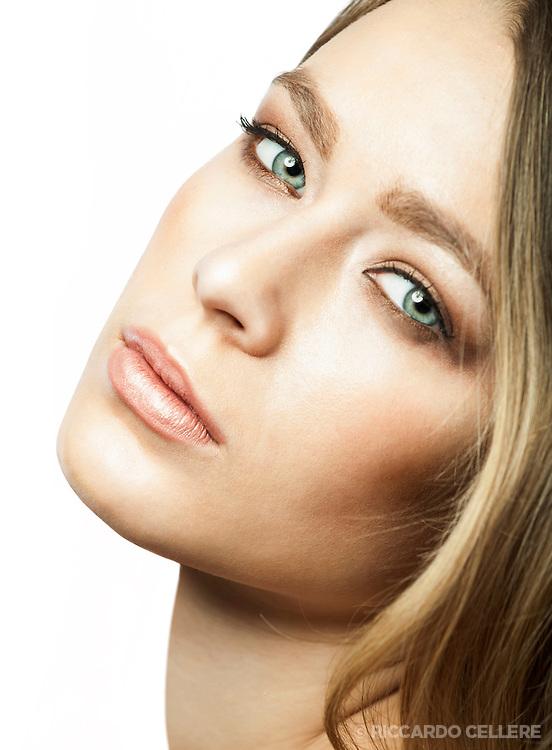 Beauty photography. Make-up artist: Maya Goldenberg. 2013.
