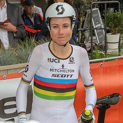 28-08-2018: Wielrennen: Ladies Tour: Arnhem <br />Annemiek van Vleuten