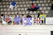 DESCRIZIONE : Trento Lega A 2014-15 Playoff Quarti di Finale Gara 1 Dolomiti Energia Trento Banco di Sardegna Sassari<br /> GIOCATORE : tifosi<br /> CATEGORIA : tifosi<br /> SQUADRA : Banco di Sardegna Sassari<br /> EVENTO : Lega A 2014-2015 Playoff Quarti di Finale Gara 1<br /> GARA : Dolomiti Energia Trento Banco di Sardegna Sassari<br /> DATA : 18/05/2015<br /> SPORT : Pallacanestro<br /> AUTORE : Agenzia Ciamillo-Castoria/M.Marchi<br /> Galleria : Lega Basket A 2014-2015 <br /> Fotonotizia: Trento Lega A 2014-15 Playoff Quarti di Finale Gara 1 Dolomiti Energia Trento Banco di Sardegna Sassari