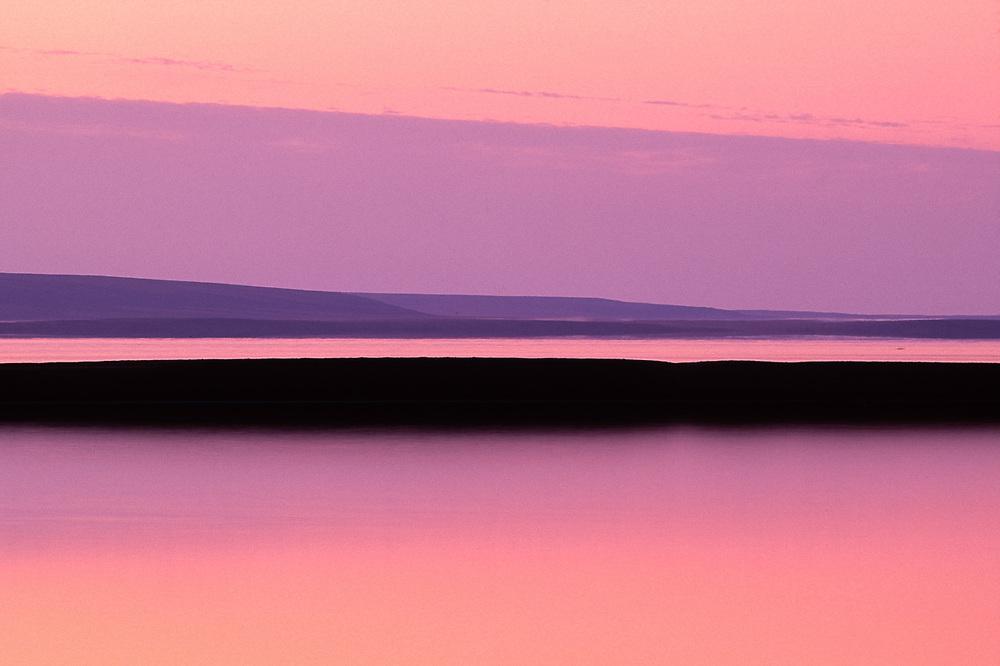 Krusenstern Lagoon, morning light, Cape Krusenstern National Monument, Alaska, USA