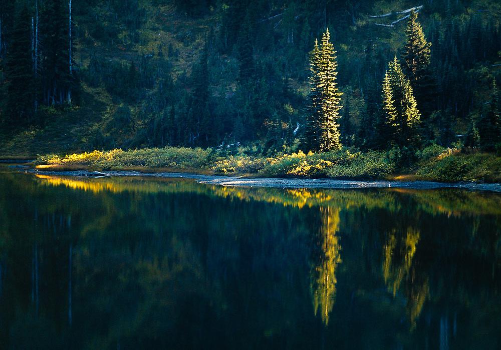 Upper Lena Lake, September, Olympic National Park, Washington, USA