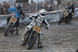 The last of the Hooligan racing at the RSD Moto Beach Classic. Huntington Beach, CA, USA. Sunday October 28, 2018. Photography ©2018 Michael Lichter.