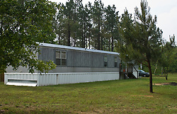 single wide mobile home in The South