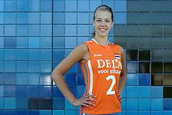 02-06-2010 VOLLEYBAL: NEDERLANDS VROUWEN VOLLEYBAL TEAM: ALMERE<br /> Reportage Nederlands volleybalteam vrouwen / Femke Stoltenborg<br /> ©2010-WWW.FOTOHOOGENDOORN.NL