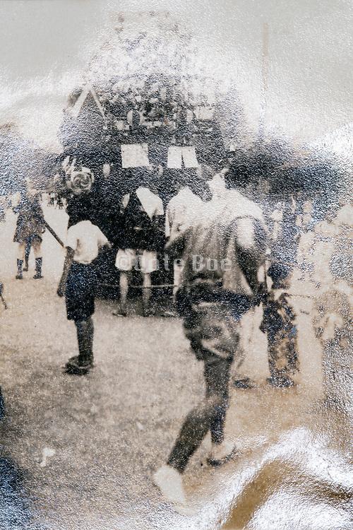 traditional religious parade event Japan ca 1950s