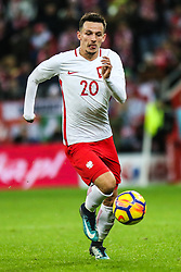November 13, 2017 - Gdansk, Poland - Rafal Wolski (POL) during the International Friendly match between Poland and Mexico at Energa Stadium in Gdansk, Poland on November 13, 2017. (Credit Image: © Foto Olimpik/NurPhoto via ZUMA Press)