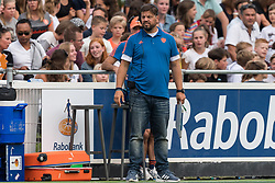 coach Max Caldas of The Netherlands during the Champions Trophy match between the Netherlands and France on the fields of G.H.C. Rapid on June 15th, 2018 in Gorinchem, The Netherlands.