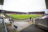 General view of Turf Moor StadiumThe FA Cup match between Burnley and Milton Keynes Dons at Turf Moor, Burnley, England on 9 January 2021.