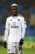 Sheyi Ojo of Fulham looks on.. EFL Skybet championship match, Cardiff city v Fulham at the Cardiff city stadium in Cardiff, South Wales on Boxing Day, Tuesday 26th December 2017.<br /> pic by Andrew Orchard, Andrew Orchard sports photography.