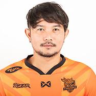 THAILAND - JUNE 24: Piyachart Thamaphan #99 of PT Prachuap FC on June 24, 2019.<br /> .<br /> .<br /> .<br /> (Photo by: Naratip Golf Srisupab/SEALs Sports Images/MB Media Solutions)