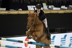 Nytens Gilles, BEL, Nibor<br /> FEI Ponies Jumping Trophy<br /> Vlaanderens Kerstjumping Memorial Eric Wauters<br /> © Dirk Caremans<br /> 27/12/2016
