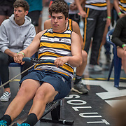 Max Roach MALE Open U19 500mtr Race #22  02:30pm<br /> <br /> www.rowingcelebration.com Competing on Concept 2 ergometers at the 2018 NZ Indoor Rowing Championships. Avanti Drome, Cambridge,  Saturday 24 November 2018 © Copyright photo Steve McArthur / @RowingCelebration