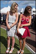 JENNY THORNE; GEORGIANA WOODCOCK, Ebor Festival, York Races, 20 August 2014