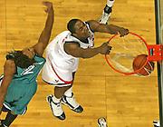 Virginia beat UNC Wilmington 69-67 Monday Jan. 18, 2010 in Charlottesville, Va. Virginia forward/center Jerome Meyinsse (55) (Photo/The Daily Progress/Andrew Shurtleff)