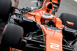 November 11, 2017 - Sao Paulo, Sao Paulo, Brazil - 2 STOFFEL VANDOORNE (BEL), of McLaren Honda F1 Team, drives during the qualifying for the Formula One Grand Prix of Brazil at Interlagos circuit, in Sao Paulo, Brazil. The grand prix will be celebrated next Sunday, November 12. (Credit Image: © Paulo Lopes via ZUMA Wire)