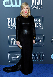 Catherine O'Hara at the 25th Annual Critics' Choice Awards held at the Barker Hangar in Santa Monica, USA on January 12, 2020.