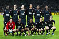 Fotball<br /> Foto: Panoramic/Digitalsport<br /> NORWAY ONLY<br /> <br /> Equipe - Lyon / Milan AC- Champions League C1 - 29.03.2006 <br /> <br /> debout de gauche a droite<br /> DIARRA - CLERC - CRIS - CAREW - ABIDAL - CACAPA - <br /> Accroupis de gauche a droite<br /> COUPET - WILTORD - MALOUDA - PEDRETTI - TIAGO