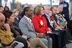 VIP's were on hand as Blu Homes opened their West Coast factory on Mare Island in Vallejo, California Dec. 1, 2011.  Over 400 guests attended a ribbon cutting ceremony at the 250,000-square-foot facility.