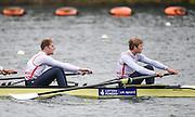 Caversham. Berkshire. UK<br /> GBR M4-. Left George NASH and Constantine LOULOUDIS.<br /> 2016 GBRowing European Team Announcement,  <br /> <br /> Wednesday  06/04/2016 <br /> <br /> [Mandatory Credit; Peter SPURRIER/Intersport-images]