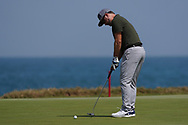 Mikko Korhonen (FIN) on the 9th during Round 3 of the Oman Open 2020 at the Al Mouj Golf Club, Muscat, Oman . 29/02/2020<br /> Picture: Golffile   Thos Caffrey<br /> <br /> <br /> All photo usage must carry mandatory copyright credit (© Golffile   Thos Caffrey)