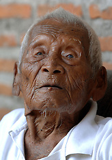 Indonesia: The oldest man in the world, 8 August 2016