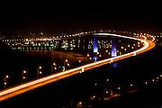 Vila Velha_ES, Brasil...A Terceira Ponte tem nome oficial de Ponte Deputado Darcy Castello de Mendonca e liga a cidade de Vitoria a Vila Velha, ambas no estado do Espirito Santo...Terceira Ponte ( Deputado Darcy Castello de Mendonca bridge ) and  connects the city Vitoria and Vila Velha in Espirito Santo...Foto: LEO DRUMOND /  NITRO