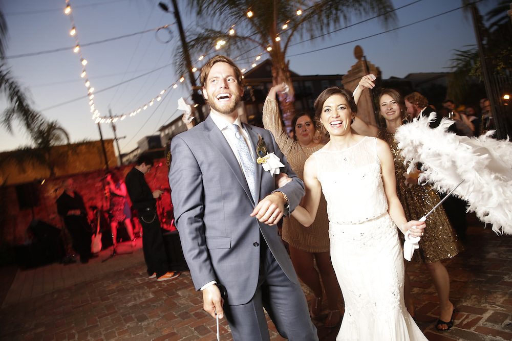 Lane Murdoch Jr.  and Abby McLellan get married in New Orleans in 2015. Photos by Chris Granger