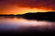 Sunset over Lake McDonald, Glacier National Park, Montana