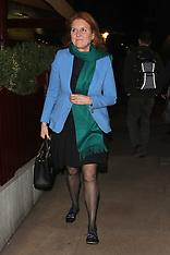 Sarah, Duchess of York at Lou Lou's - 19 Feb 2019