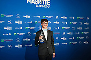Brussels , 01/02/2020 : Les Magritte du Cinema . The Academie Andre Delvaux and the RTBF, producer and TV channel , present the 10th Ceremony of the Magritte Awards at the Square in Brussels . <br /> Pix : Idir Ben Addi<br /> Credit : Olivier Polet / Isopix