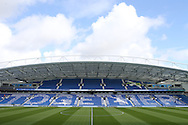 Tributes for Matthew Grimstone and Jacob Schilt before the Sky Bet Championship match between Brighton and Hove Albion and Hull City at the American Express Community Stadium, Brighton and Hove, England on 12 September 2015.