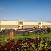 Kendall Jackson Distribution Warehouse in the final days of construction