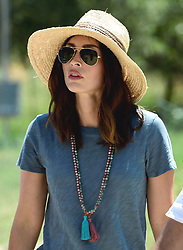 Hollywood star Megan Fox visits Troy Ancient City for her new Mysteries and Myths with Megan Fox dcumentary series in Canakkale, west of Turkey, on July 2nd, 2018. Photo by Depo Photos/ABACAPRESS.COM