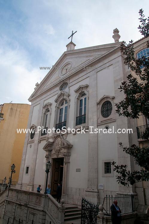 Igreja do Santíssimo Sacramento, The Holy Sacrament Parish Church, (Built in 1685 and reconstructed in 1807) Lisbon, Portugal