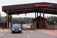 20.10.2016 Polowce woj podlaskie Zakonczenie przebudowy i modernizacji drogowego przejscia granicznego z Bialorusia Polowce - Pieszczatka . Na inwestycje przeznaczono ok. 135 mln zlotych , w tym ze Szwajcarsko-Polskiego Programu Wspolpracy 66 mln N/z infrastruktura przejscia fot Michal Kosc / AGENCJA WSCHOD