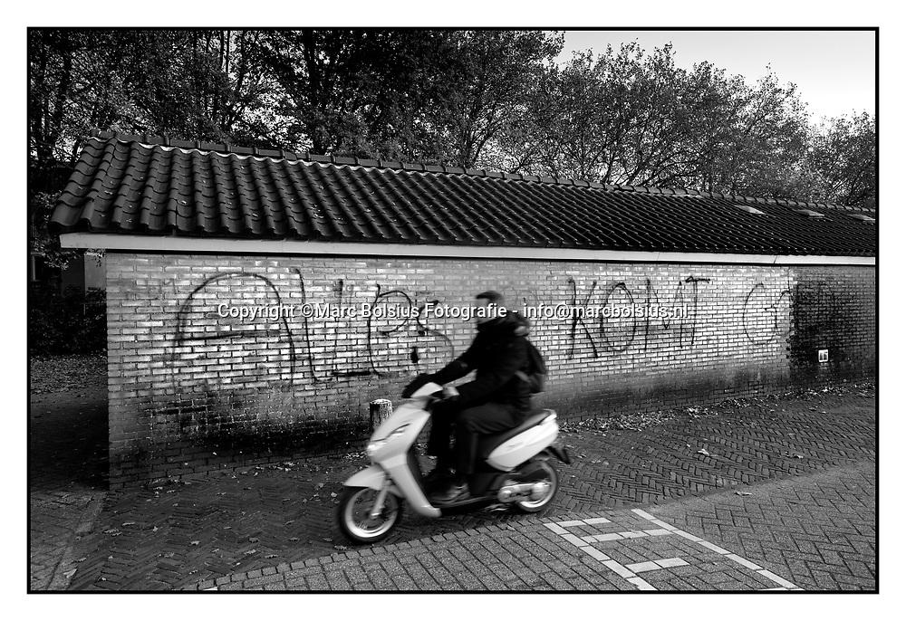 den bosch, tekst langs het spoor bij de bopschveldweg voor stukje over rodney weterings geschreven door de stadskronieker eric alink