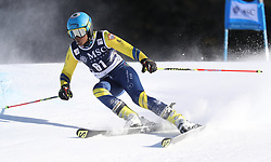 27.01.2018, Lenzerheide, SUI, FIS Weltcup Ski Alpin, Lenzerheide, Riesenslalom, Damen, im Bild Mialitiana Clerc (MAD) // Mialitiana Clerc of Madagascar in action during the ladie's Giant Slalom of FIS ski alpine world cup in Lenzerheide, Austria on 2018/01/27. EXPA Pictures © 2018, PhotoCredit: EXPA/ Sammy Minkoff<br /> <br /> *****ATTENTION - OUT of GER*****
