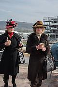 KAREN RUSSELL, The Cheltenham Festival Ladies Day. Cheltenham Spa. 11 March 2015