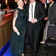 NLD/Amsterdam/20110328 - Premiere Trooststraat 55, Anne Marie Jung en partner Burt Rutteman