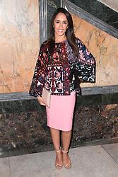 Janette Manrara at the Julien Macdonald Autumn/Winter 2017 London Fashion Week show at Goldsmiths' Hall, London. Photo credit should read: Doug Peters/ EMPICS Entertainment