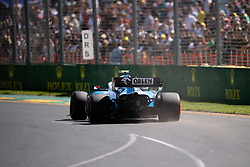 March 15, 2019 - Albert Park, VIC, U.S. - ALBERT PARK, VIC - MARCH 15: Williams Racing driver George Russell (63) at The Australian Formula One Grand Prix on March 15, 2019, at The Melbourne Grand Prix Circuit in Albert Park, Australia. (Photo by Speed Media/Icon Sportswire) (Credit Image: © Steven Markham/Icon SMI via ZUMA Press)