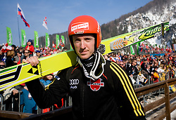 NEUMAYER Michael, SK Berchtesgaden, GER  during Flying Hill Individual Trial Round at 2nd day of FIS Ski Flying World Championships Planica 2010, on March 19, 2010, Planica, Slovenia.  (Photo by Vid Ponikvar / Sportida)