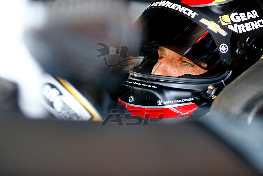April 29, 2017 - Richmond, Virginia, USA: Jamie McMurray (1) straps into his car to practice for the Toyota Owners 400 at Richmond International Speedway in Richmond, Virginia.
