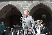 12/07/2015   repro free The National Day of Commmeoration Ceremony was held in NUI, Galway in honour of all those who irish mean nd women who died in past wars or on service with the UN . Frank Naughton Snag Beautifully.<br /> Photo:Andrew Downes:XPOSURE